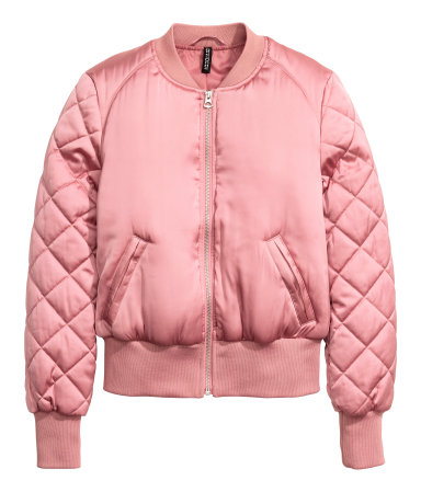 Pink Pilot Jacket