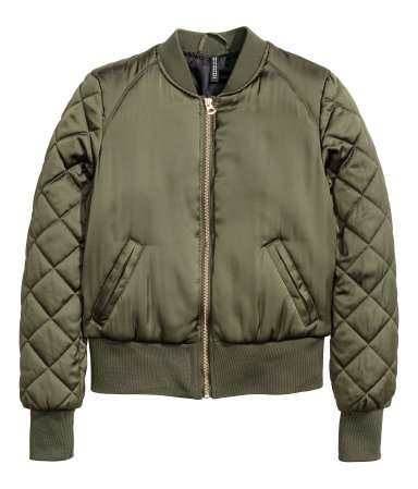 Green Pilot Jacket
