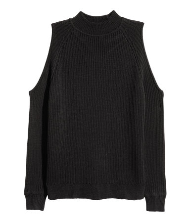 Open Shoulder H&M Sweater