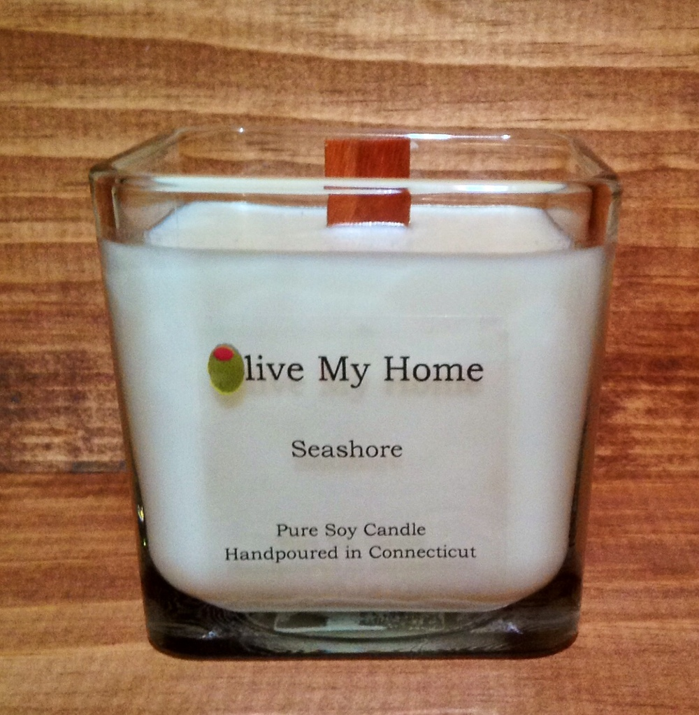 Wood Wick Soy Candle Jar