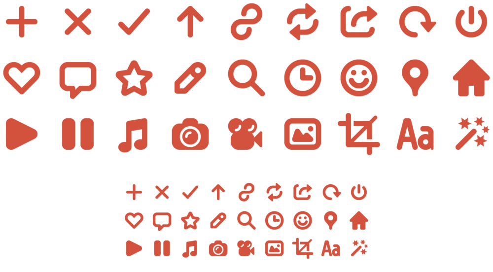 Each Icon Design's is Based on