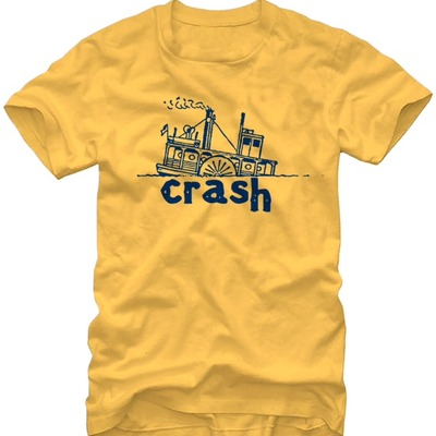crash Steamboat tee - $20