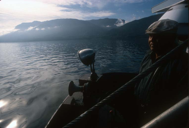 kwakiutl  james sewid in boat.jpg
