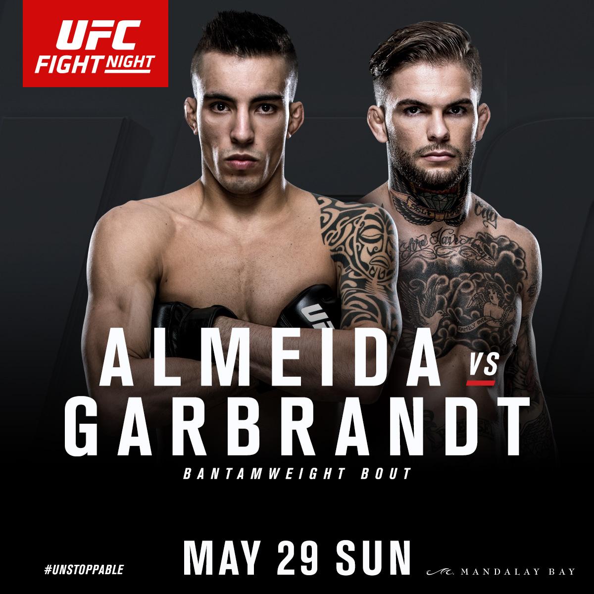 May 29 - UFC FIGHT NIGHT - Tho...
