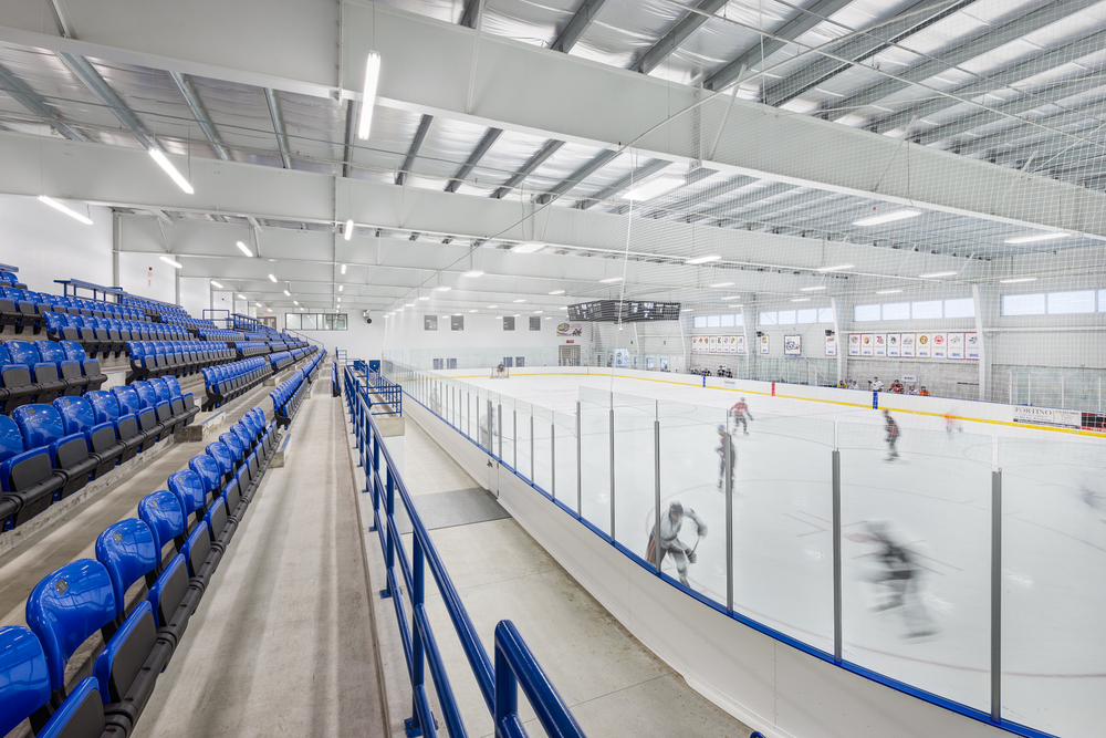 Buckingham Arena,  WGD Architects , Toronto.