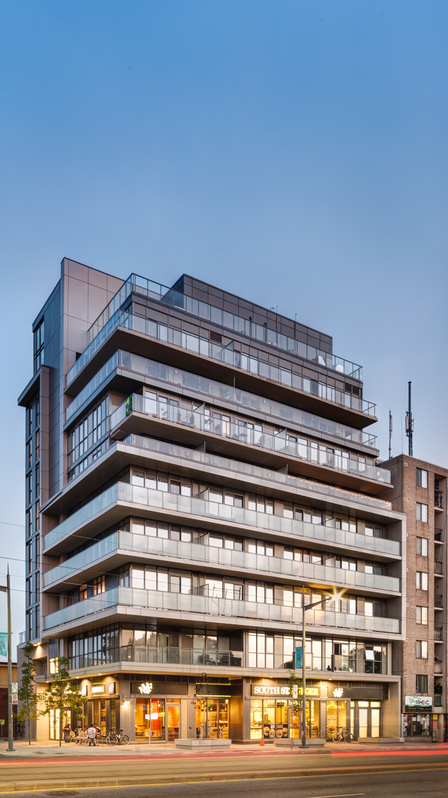 The Rushton Residences, 743 St. Clair W.