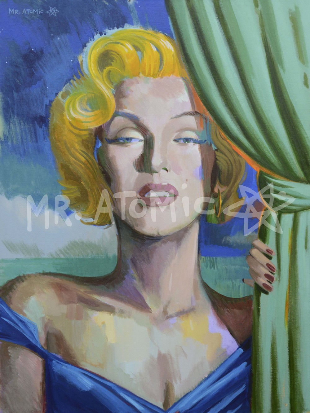 Pillow Case Blonde (Marilyn Monroe) - 3'x4'
