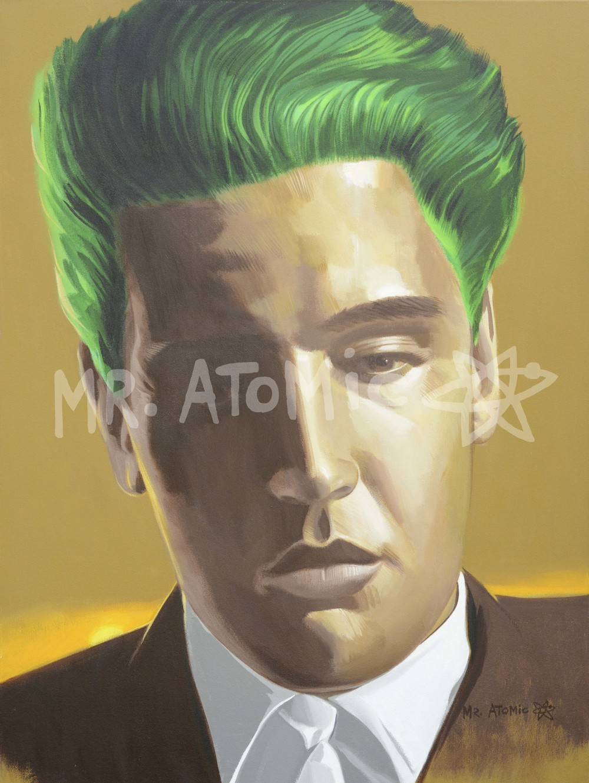 Boy from Tupelo (Elvis Presley) - 3'x4'