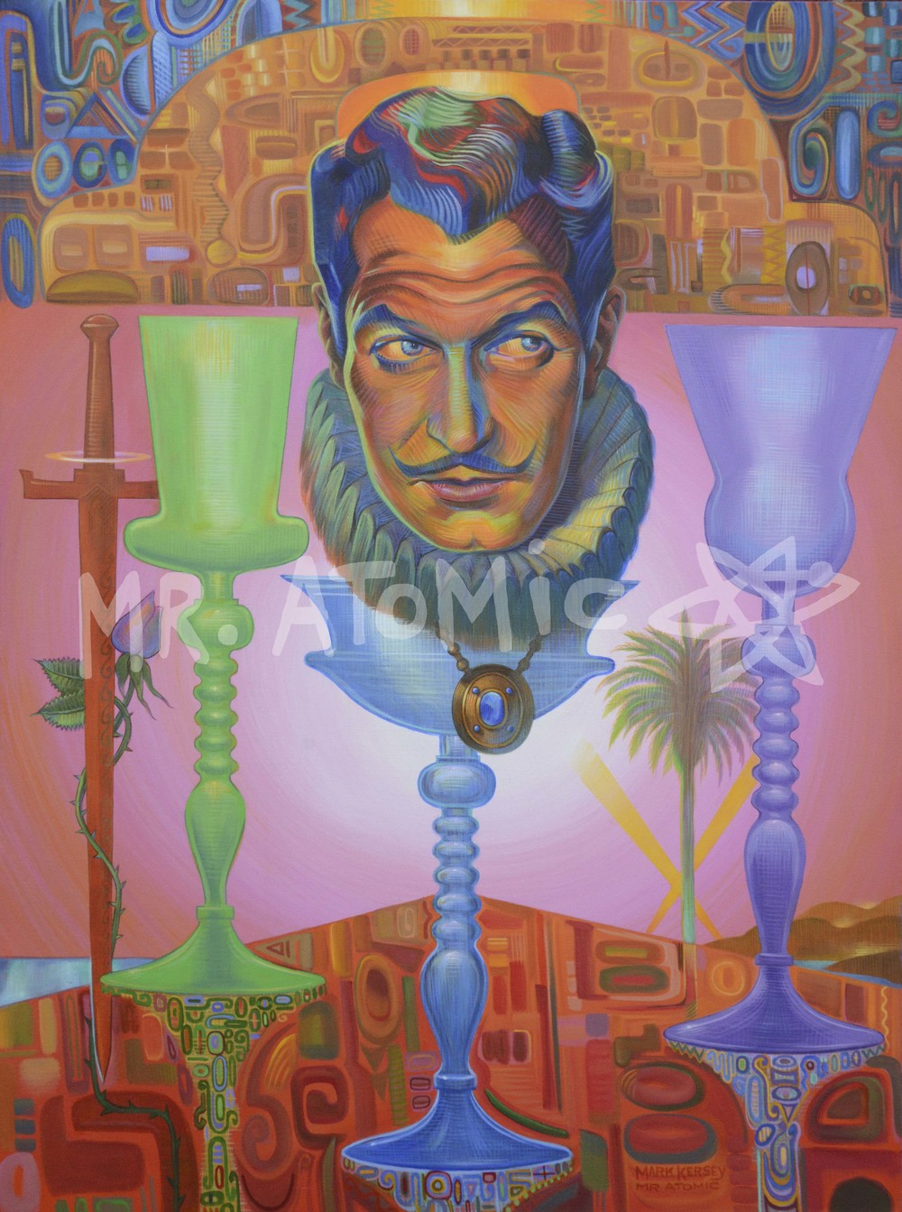 Vincent Price 'Priceless' - 3'x4'