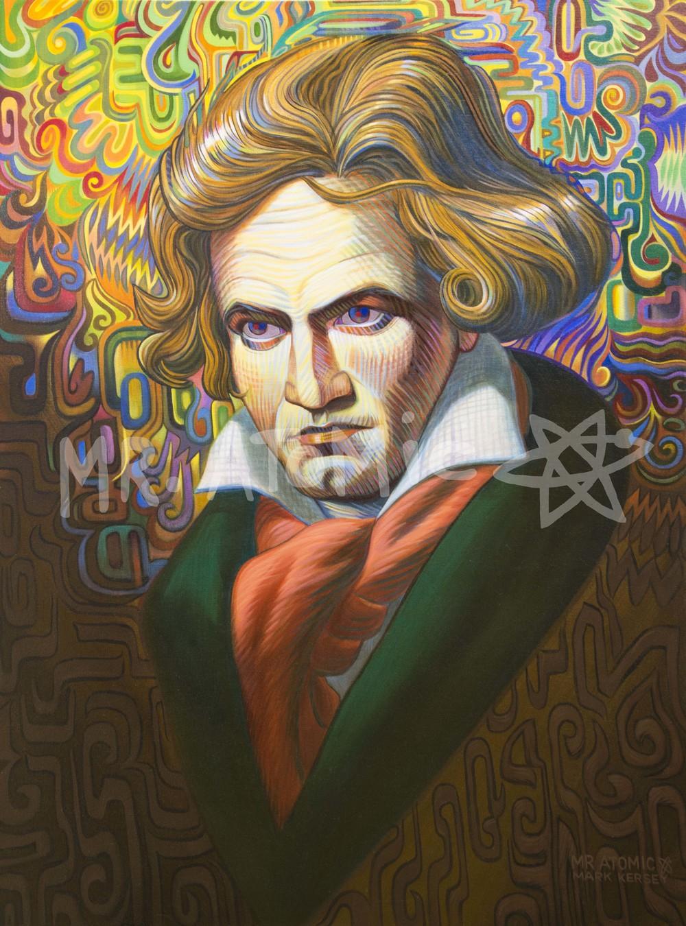 Ludwig Von Beethoven - 3'x4'