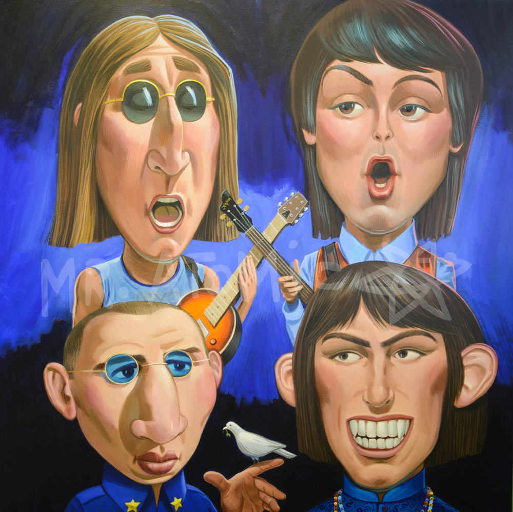 The Lads From Liverpool - 4'x 4'