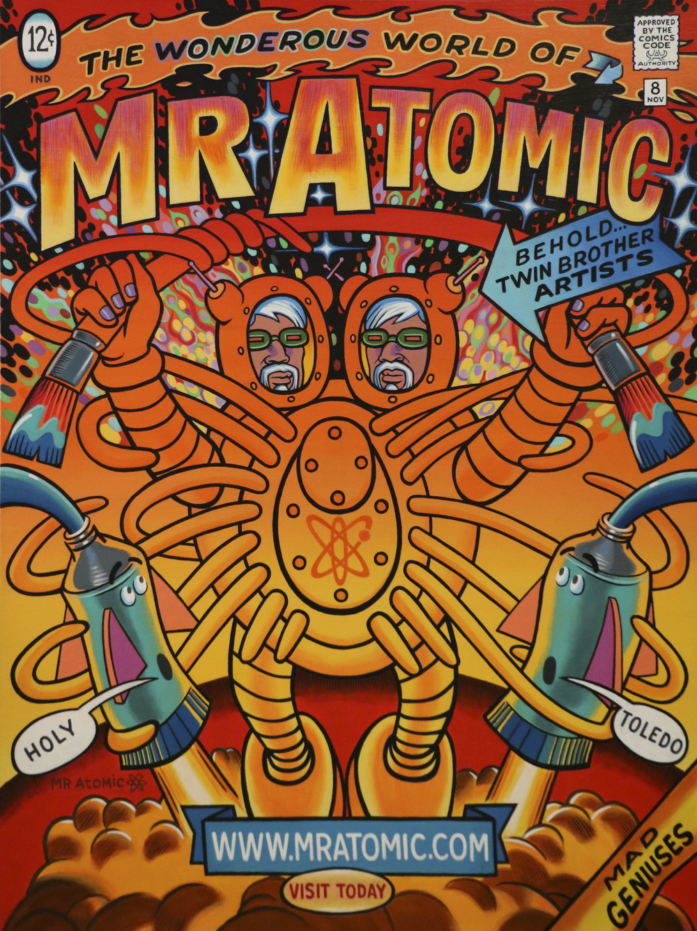 Mr Atomic Art Studio