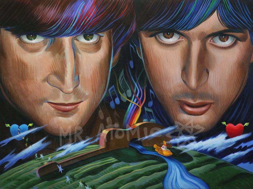 Lennon and McCartney - 3'x4'
