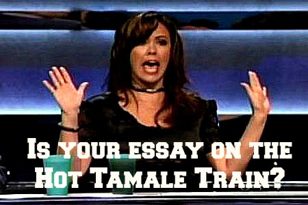 Is your college essay on the Hot Tamale Train? writewithrosie.com