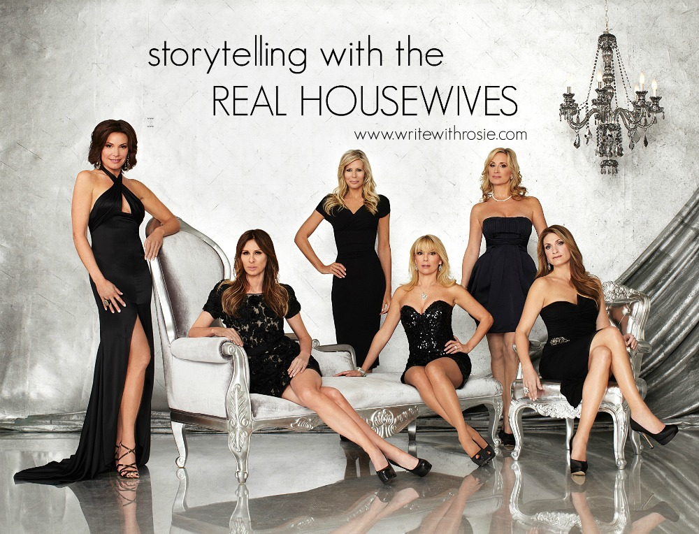 real housewives write with rosie
