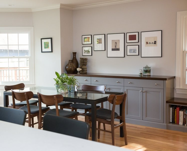 Kitchen Dining Room Swap Petrick Architecture