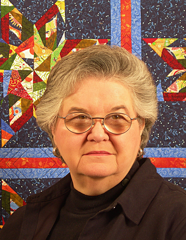 Beatrice Hughes: Quilter, quilt teacher, author, presenter, and founder of Full-Circle-Publications.
