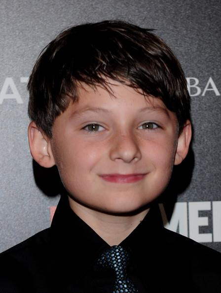 Jared Gilmore at the premiere of Season Four of AMC's Mad Men.