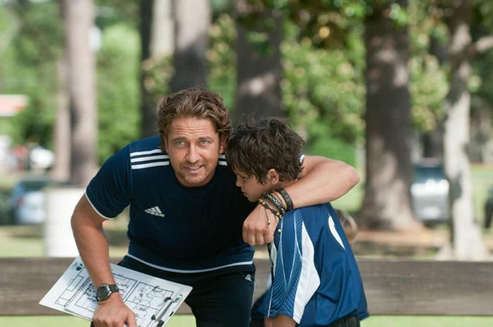 "Noah as Lewis in ""Playing for Keeps"" with costar Gerard Butler."