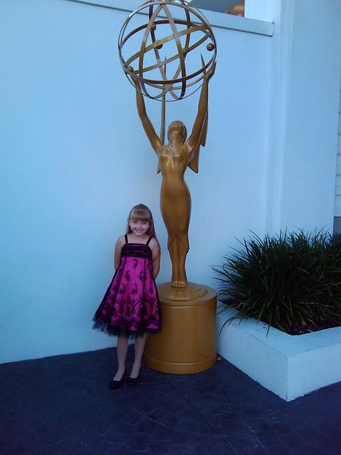 Samantha at the Emmy Nominees event.