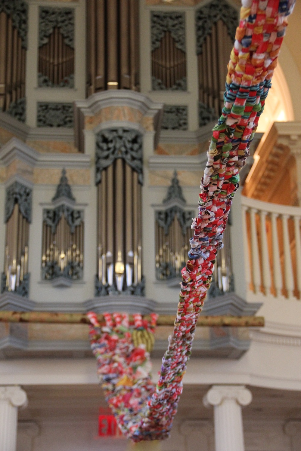 2015 Installation, Marquand Chapel, Yale Divinity School, New Haven, CT