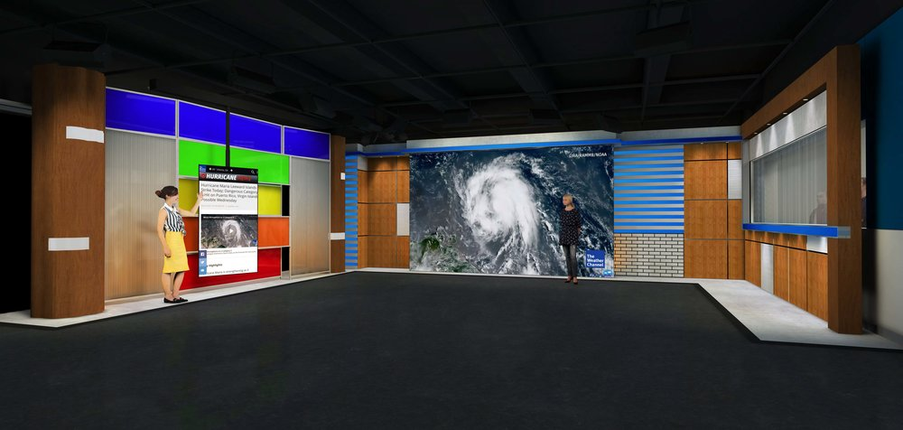 The Weather Channel - Studio Concept