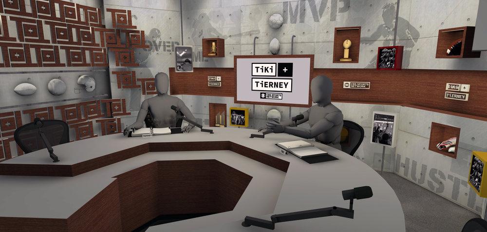 CBS - Tiki + Tierney Show