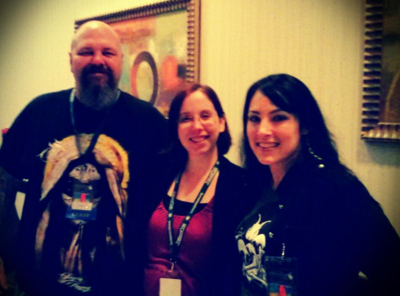 With James R. Tuck and Alex Hughes at Jordancon 2013.