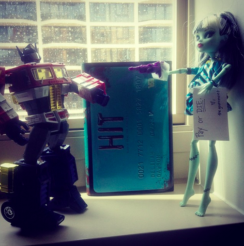 Optimus Prime loves this book and expects you to buy it. OR THE DOLL DIES.