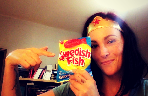 You can't edit without a tiara and Swedish Fish. Trust me on that.