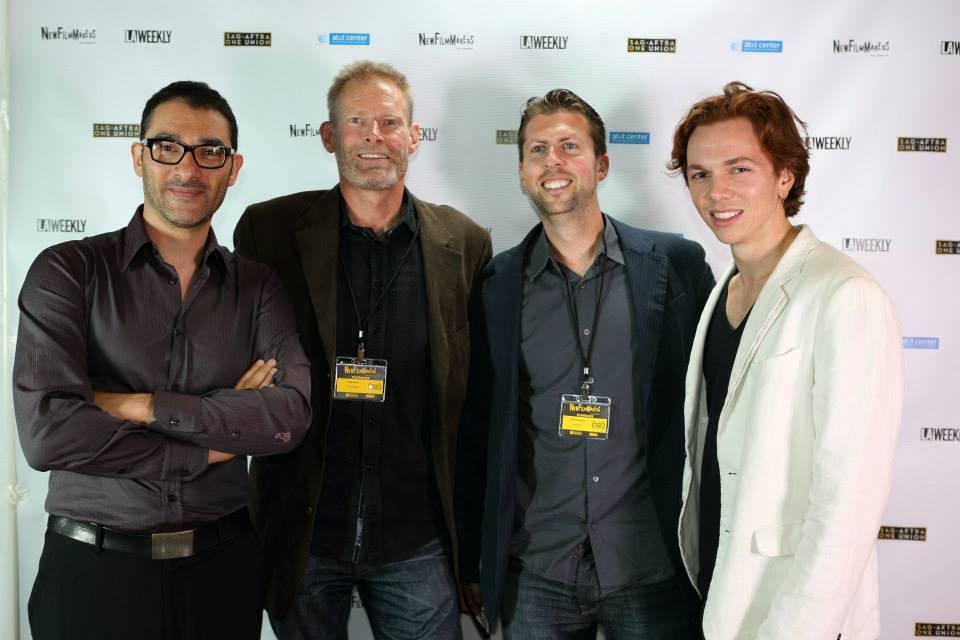 DanielGamburg_NilesHeckman_RickGlenn_TiagoFelizardo_NewFilmmakers2013.jpg