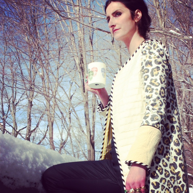 Leopard Muse Coat