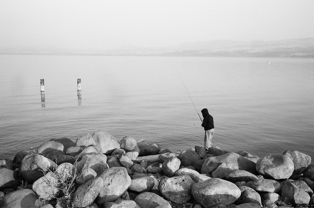 The Kinneret, sea of the Galilee, Israel