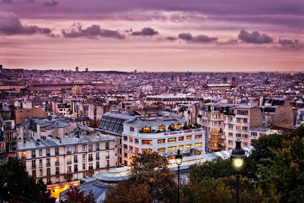 Montmartre overview