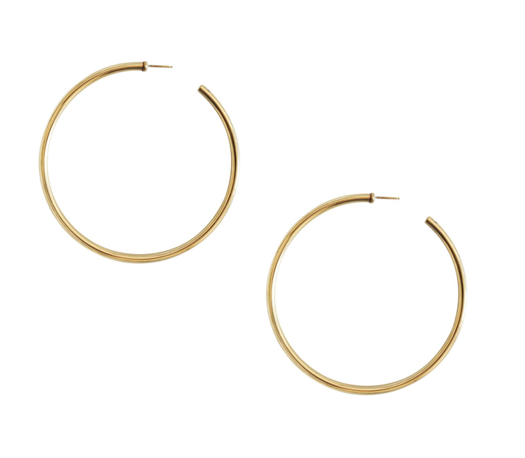 XL Classic Hoop Earring — Laura Lombardi Jewelry