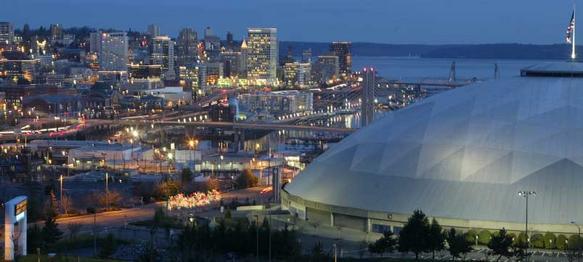 Downtown Tacoma & Tacoma Dome
