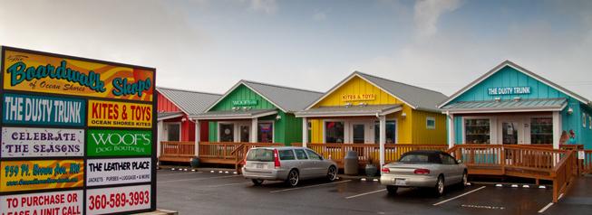 Ocean Shores shops