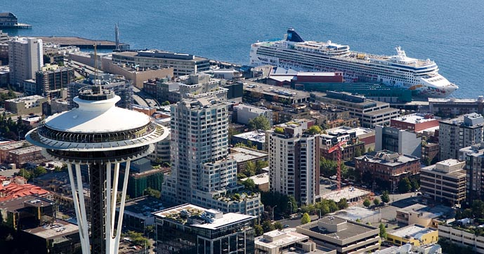 Seattle Alaskan Cruises @ Pier 66 & Pier 91 all summer long