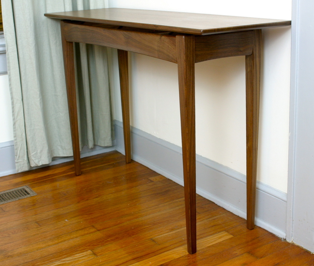 Perfect Walnut Entry Table 7