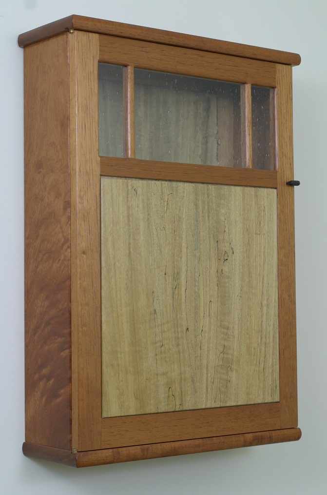 Cedar Wall Cabinet 3 smaller.jpg & Spanish Cedar Wall Cabinet u2014 BrassApple Furniture