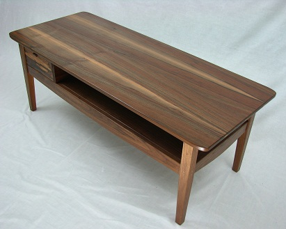 Walnut coffee table 411x329.jpg - Walnut Coffee Table — BrassApple Furniture