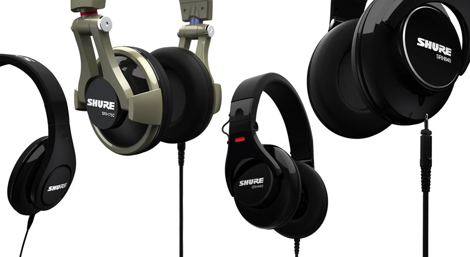 Shure SRH Headphone Series - Here is a description of your product. Adipiscing elit. Donec odio. Quisque volutpat mattis eros. Nullam malesuada erat ut turpis.