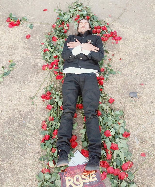 The aftermath 🌹🌹🌹 #rambleonrose