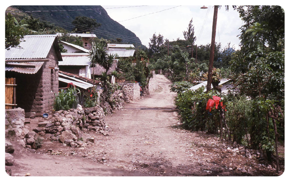 Santa Caterina, Guatemala in the 70s (photo taken by Amira's dad, William Marion)