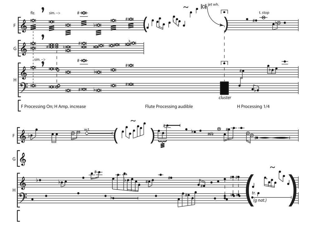 Ashen Curtain  score, p. 2