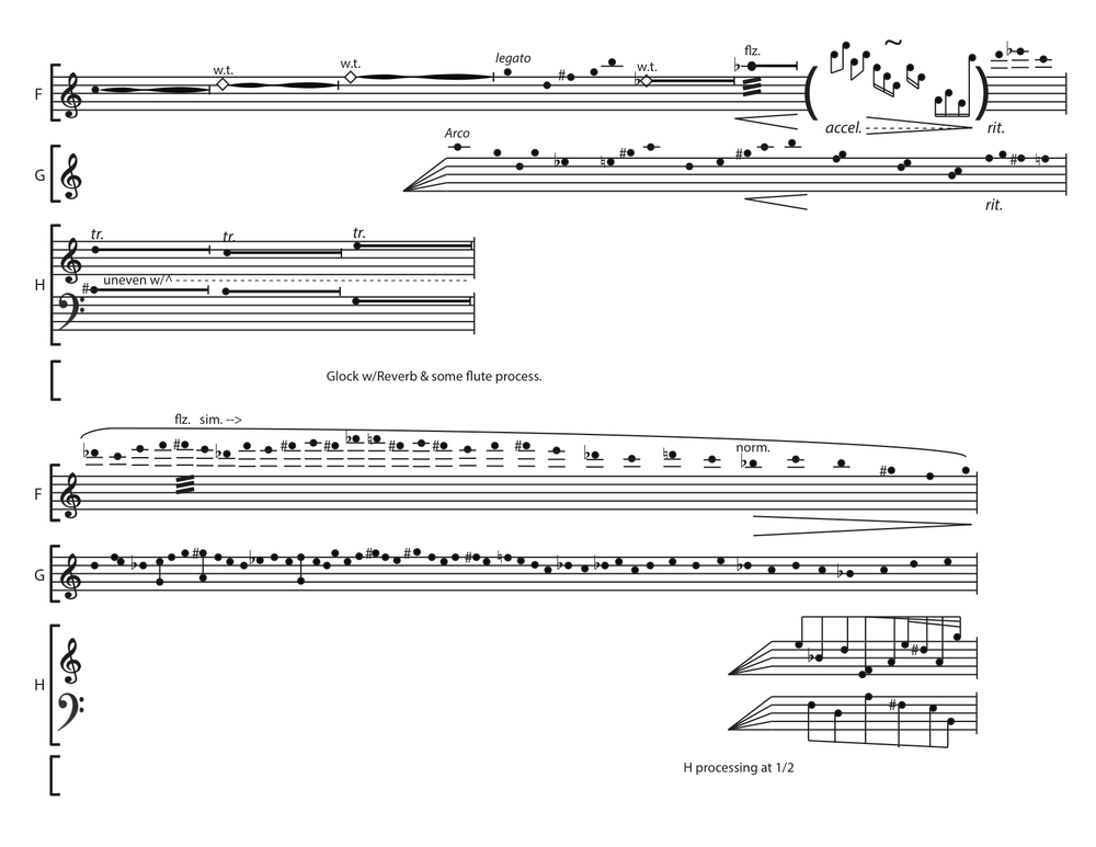 Ashen Curtain  score, p. 3
