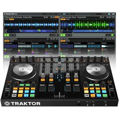 Native Instruments - Traktor Control w/ Traktor Pro 2 professional DJ deck & software.