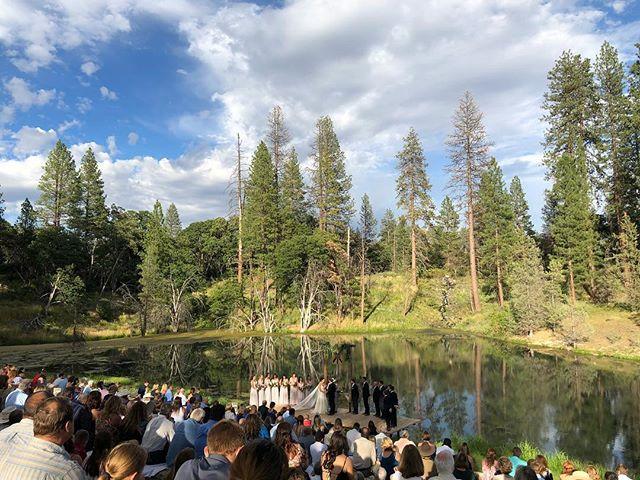 Beautiful day for a wedding! #norcalweddings #norcal #fallriver