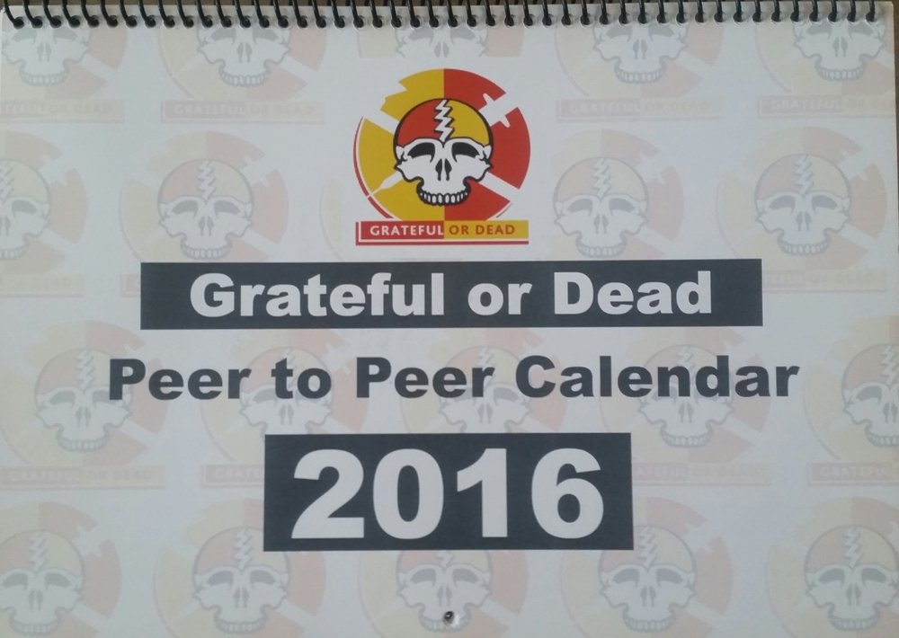 "Calgary's Chapter ""Grateful or Dead"" has calendars for the 2016 year for sale. $20 per calendar - please contact us through the ""Contact"" link on our website if you're interested in purchasing a calendar! The money raised goes towards the GOD chapter (peer outreach supplies, peer training initiatives, presentation honorariums)."