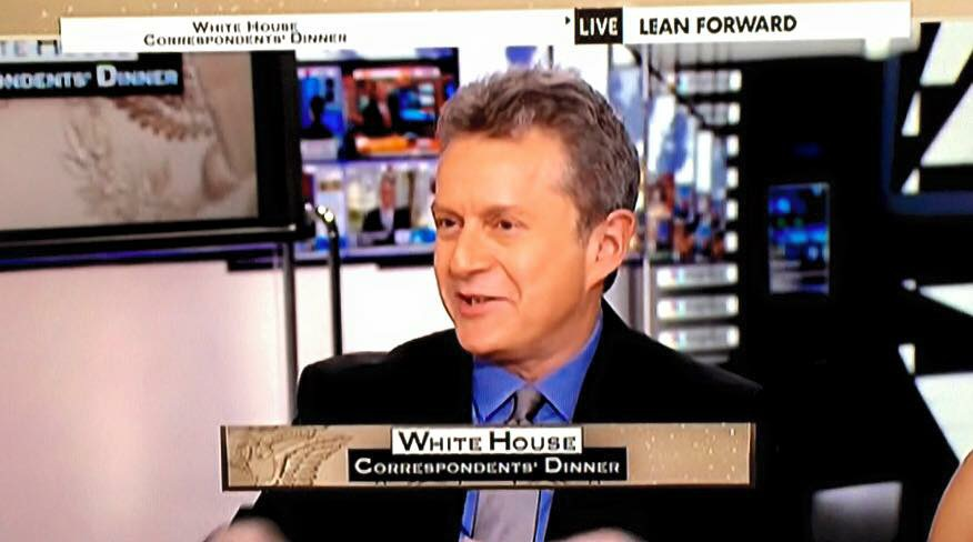 Scott was featured on MSNBC's live coverage of 2016 White House Correspondents Dinner.